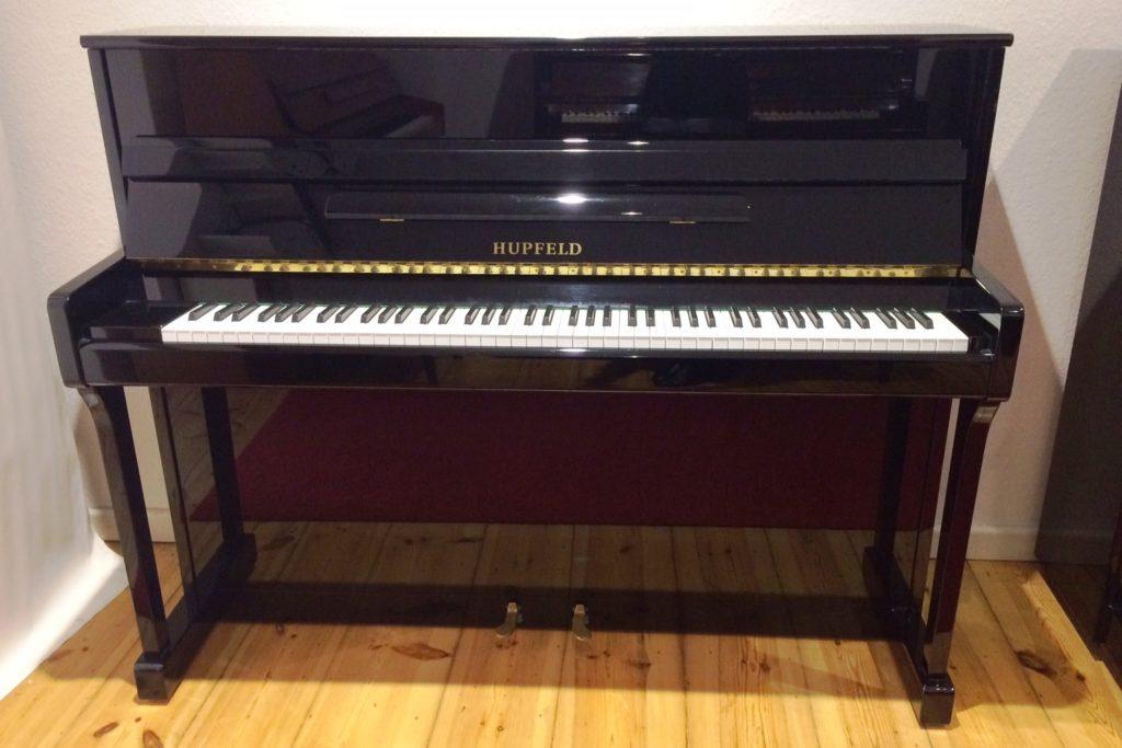 pianohaus stieler hupfeld klavier modell 115 c schwarz hochglanz. Black Bedroom Furniture Sets. Home Design Ideas